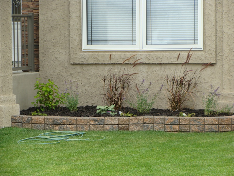 small retaining wall and river rock jpg pictures to pin on