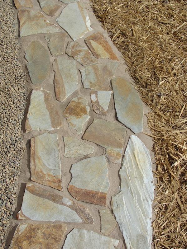 stone walk way